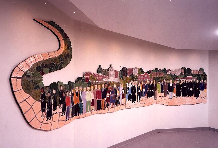 Procession mural
