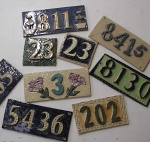House Numbers Workshop