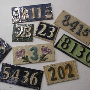 House Number Workshop
