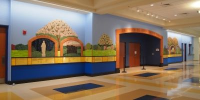 Our Lady of Good Counsel Donor Wall by Karen Singer Tileworks