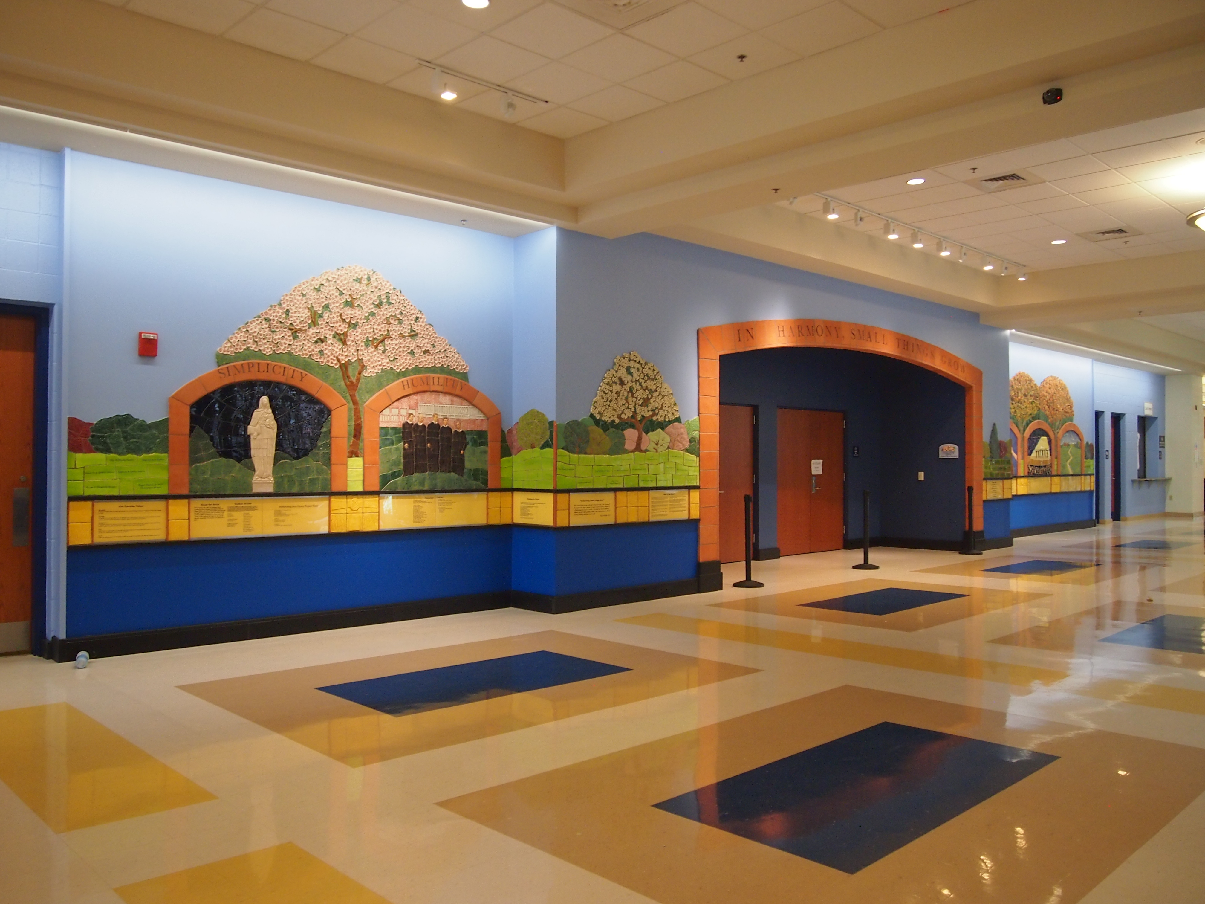 Karen Singer TileworksRecent PostsNews categoriesNews By DateOur Largest Donor Wall Yet  – Our Lady of Good Counsel High School