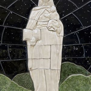 Detail of Mary Statue